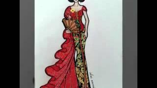 Illustration kebaya anneavantieheart