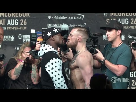 Floyd Mayweather vs. Conor McGregor Brooklyn press conference best bits