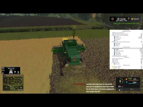 RDAllen Live Console Bashing on Drumard Farm 09 02 17