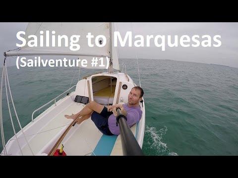 Sailing to Marquesas Island Group Near Key West Florida (Sailventure #1)
