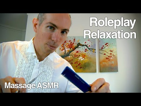 ASMR Role Play - Relaxation Session with an ASMR Artist