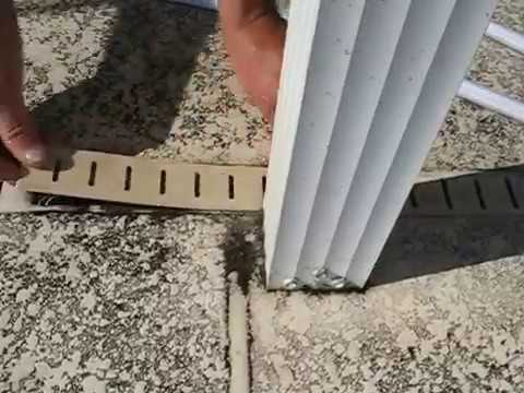 Using The Deck Drain Janitor Find At Deckdrainjanitor