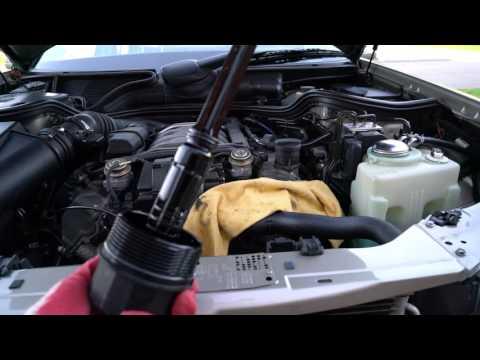oil change 1999 Mercedes Benz E320