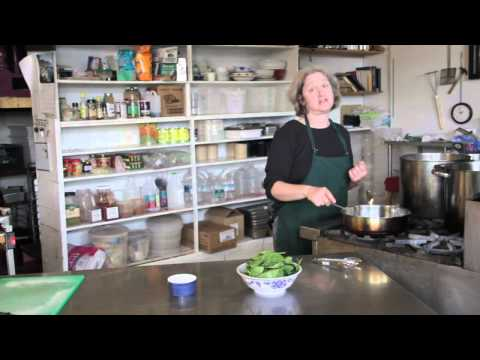 How To Pan Fry Spinach