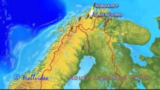 Route Nordnorwegen 2010
