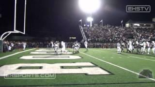 EHSports.com - #7 Ben Gramke completes a touchdown pass to #18 Max Mazza