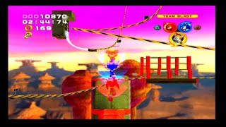 Sonic Heroes PS2 Gameplay