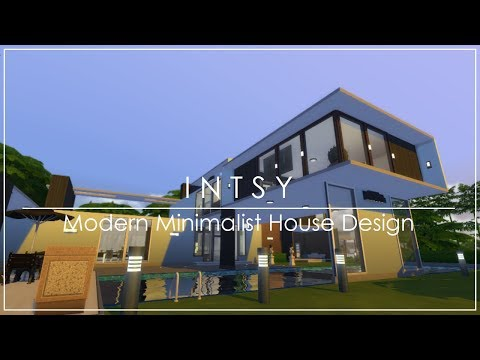 INTSY - Modern Minimalist House Design | The Sims 4 Indonesia