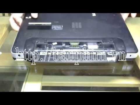 Thay Tháo Sửa Lắp Bàn Phím Laptop Dell Vostro 1450 Keyboard Replacement Fix Assembly Guide