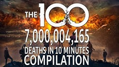 The 100 7,000,004,165 Deaths in 10 minutes Compilation (Season 1 to 4)