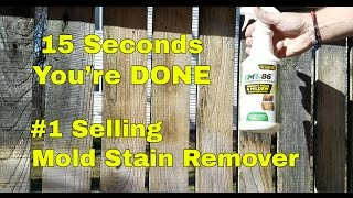 Remove Mold Stains in Seconds RMR-86 Simple and quick!