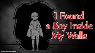 I Found a Boy Inside My Walls | horror animation |