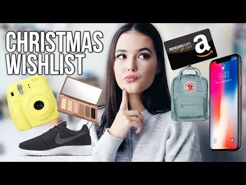WHAT TO ASK FOR CHRISTMAS 2017 // GIFT IDEAS   Reese Regan