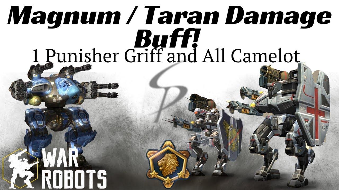 War Robots - Magnum / Taran Damage Buff!!! 1 Punisher ...