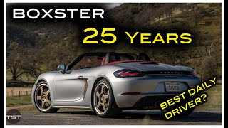 The Boxster 25 Yeąrs Is the Best Daily Driver Porsche Sports Car - Two Takes