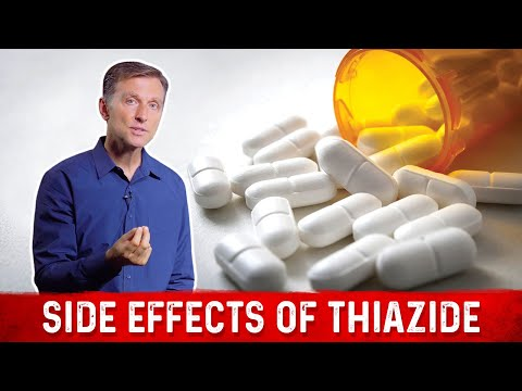 The Crazy Side Effects Of Thiazide (High Blood Pressure Medication)