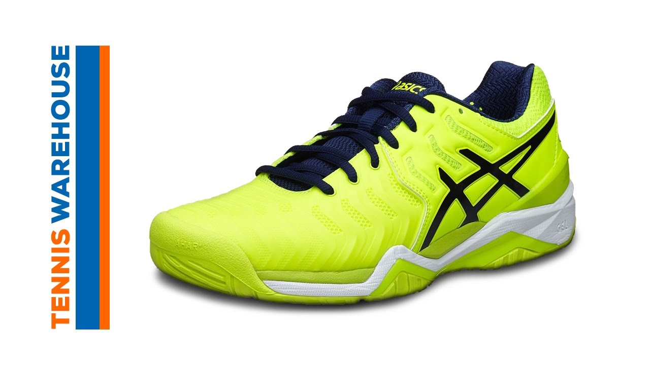 asics gel resolution tennis men's elite