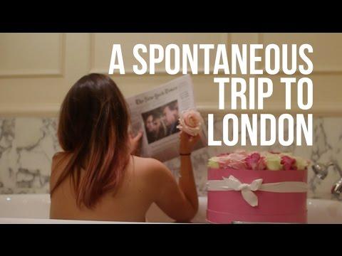 A spontaneous trip to London