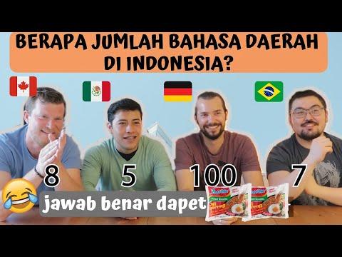 SAMPE NGANGA!! 😱😱SEBERAPA TAU MEREKA TENTANG INDONESIA???