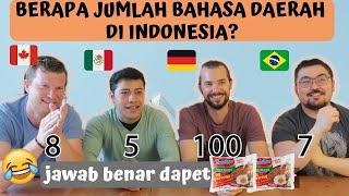 SAMPE NGANGA!! 😱😱SEBERAPA TAU MEREKA TENTANG INDONESIA??? MP3