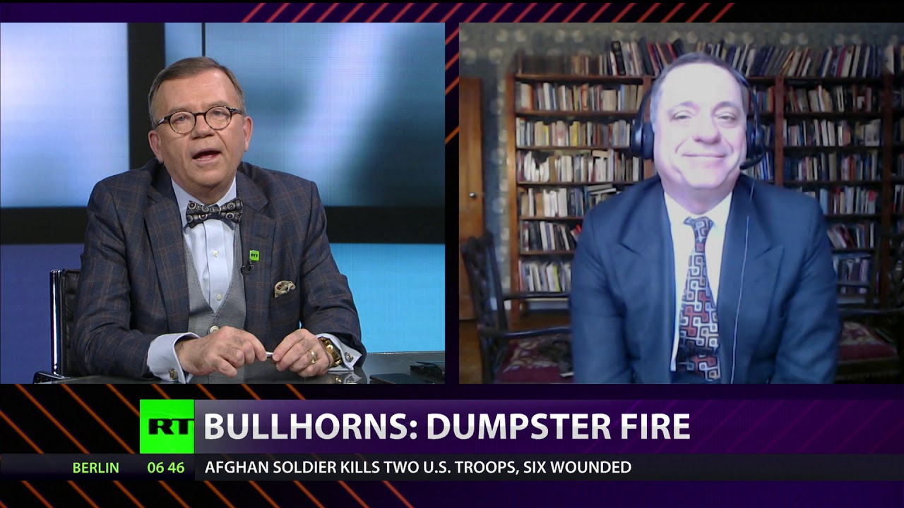 CrossTalk BULLHORNS: Dumpster fire, 11 Feb 2020