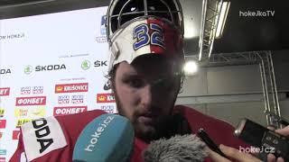Patrik Bartošák po čtvrtfinále: Kluci se za mě postavili