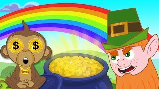 The Adventures of Annie and Ben: Mystery of the Leprechaun's Gold | Cartoon Videos For Kids