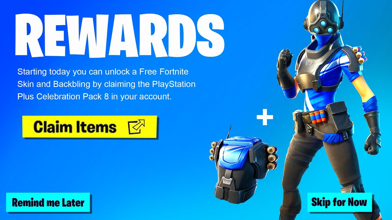 New FREE SKIN in Fortnite! How to Get New Celebration Pack ...