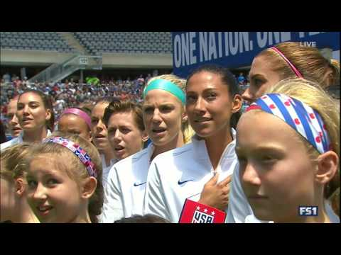 (2) USWNT vs South Africa 7.9.2016