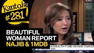 Beautiful woman from Bloomberg on Najib and 1MDB