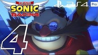 Team Sonic Racing - Gameplay Walkthrough Part 4 - Chapter 4 (Full Game) Story Mode