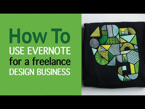 3 ways how to use Evernote for freelance textile design business and Evernote HQ event