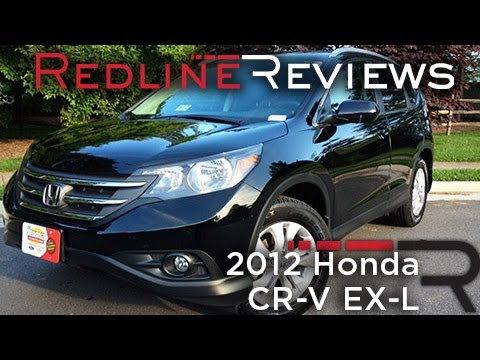 2012 Honda CR-V EX-L Review, Walkaround, Exhaust, & Test Drive