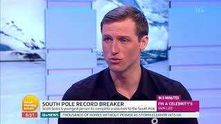 South Pole Record Breaker | Good Morning Britain