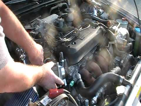 1991 Accord distributor swap - YouTube