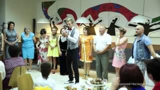 Салют на свадьбе прямо в зале - супер конкурс!