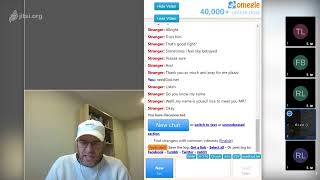 Deep chats LIVE on Omegle