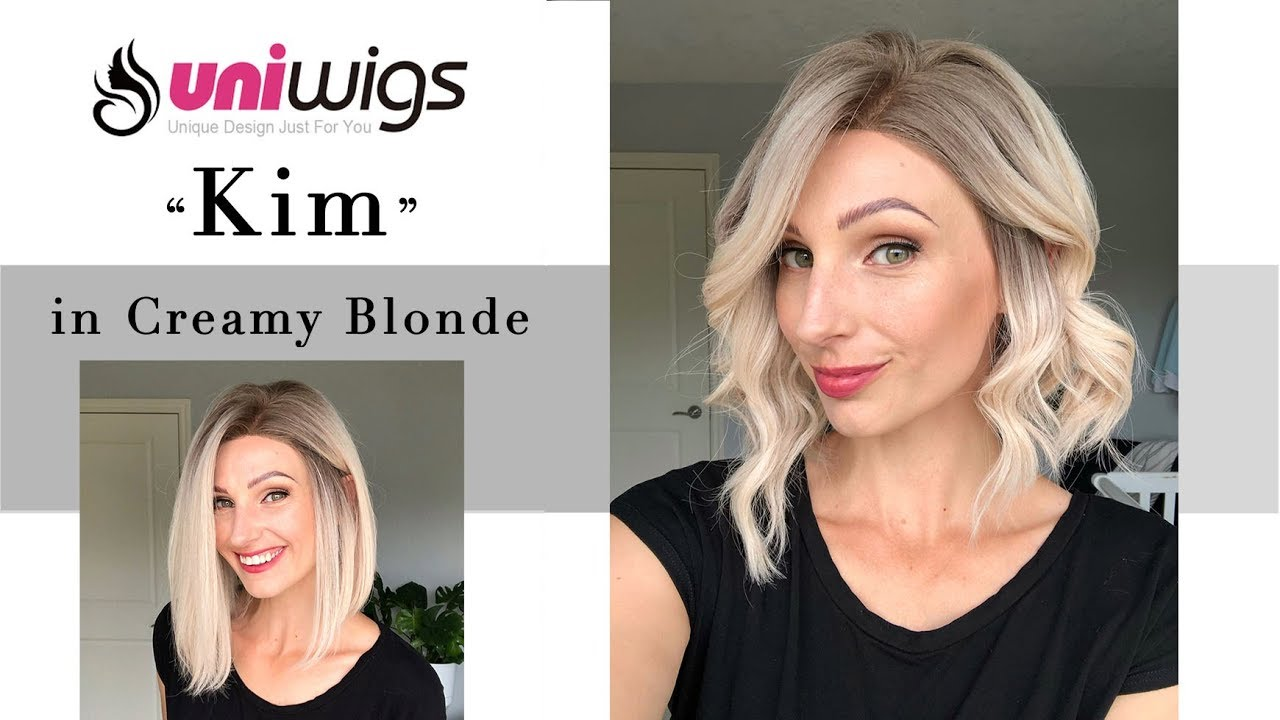 Kim in Creamy Blonde by Uniwigs Review