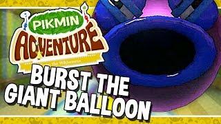 Nintendo Land   Pikmin Adventure: Burst the Giant Balloon - 74 (Wii U + GamePad Walkthrough)