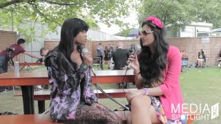 Yahoo Wireless Festival 2014 Dominique Young Unique Interview Media Spotlight UK