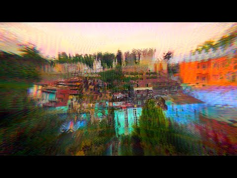 LSD PEAK VISUALS | Psychedelic Acid Trip Simulation (short Version)