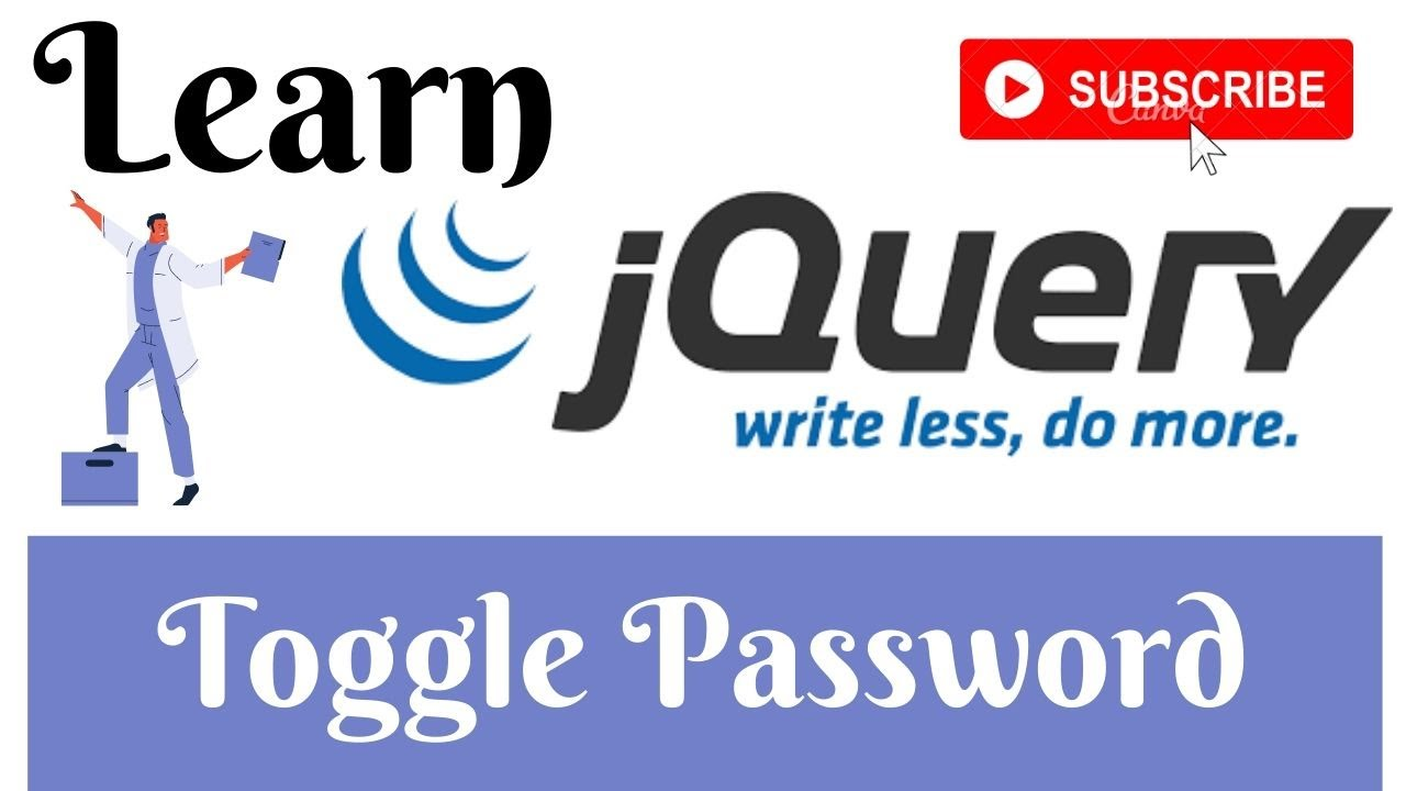 jQuery Lecture - 60 Toggle Password Visibility (Show&Hide Password) Tutorial in Hindi/Urdu