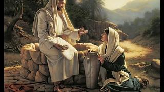 """የሂወት ውሃ:  When a Samaritan woman came to draw water, Jesus said to her, """"Will you give me a drink?"""""""