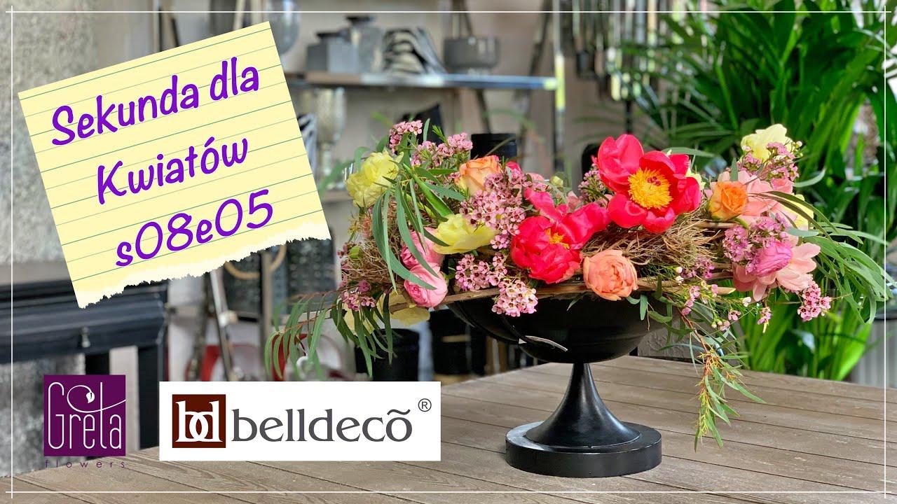 Sekunda dla Kwiatów S08 E05 - loftowa kompozycja w wazie