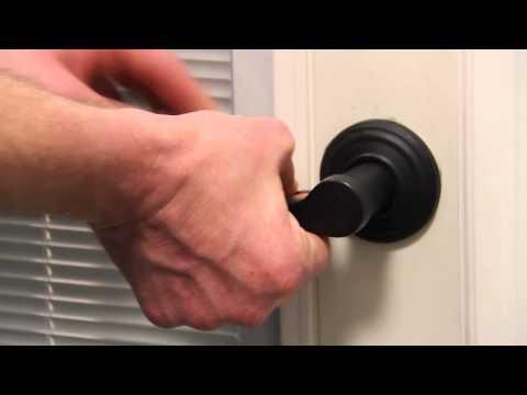 Adjusting your Door Handle
