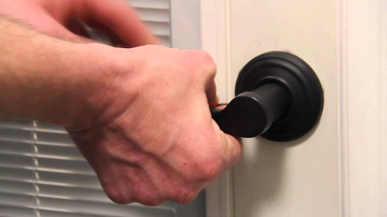 How to Adjust a Loose Door Handle  Centra Windows