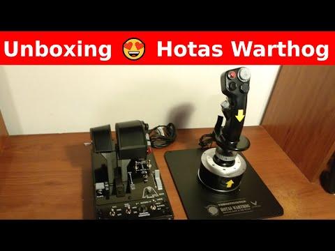 Unboxing 😍 Thrustmaster Hotas Warthog 😱