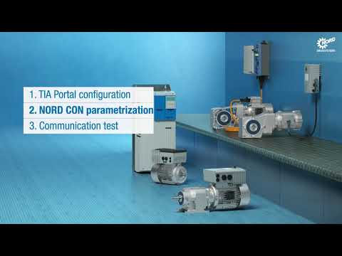 NORDAC Tutorial - PROFINET IO drive integration | NORD DRIVESYSTEMS Group