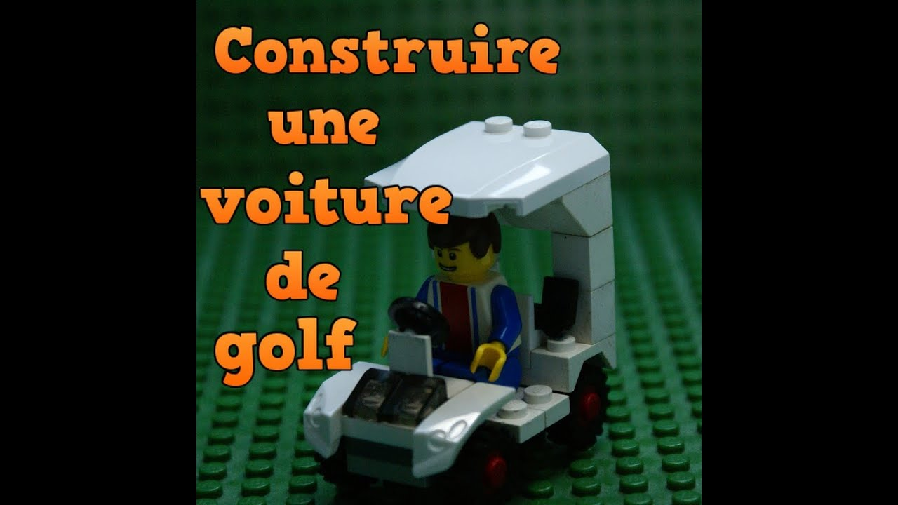 comment fabriquer une voiture de golf lego youtube. Black Bedroom Furniture Sets. Home Design Ideas