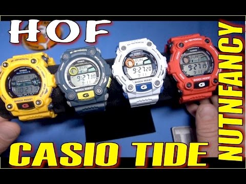 Casio's Famous Water Watches [7900 Series]